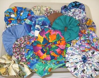 Assorted Hair Scrunchies, Hair Ties, Ponytail, Women Hair Accessories Pack Animal Prints- 3 pcs