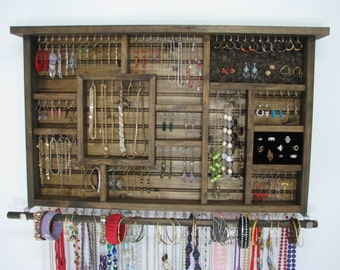 Jewelry Organizer, Necklace storage