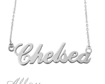 Wholesale  Personalized Name Necklace  name Necklace  alloy  Pendant   Wedding Necklace ,alloy pendant