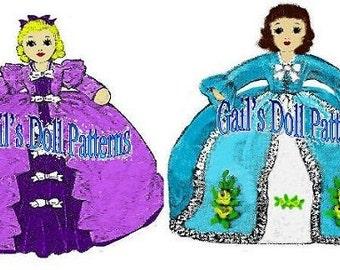 Laura Wheeler Victorian Topsy Turvy Doll Pattern