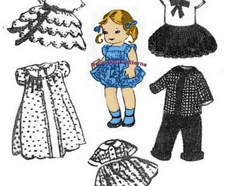 Ginny, Muffy, Alexanderkins Wardrobe Pattern #6