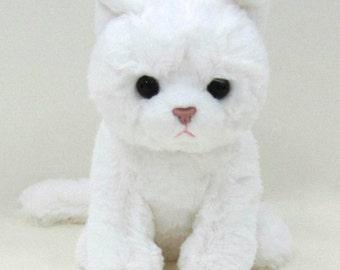 Kityu Gifts Plush White Kitten