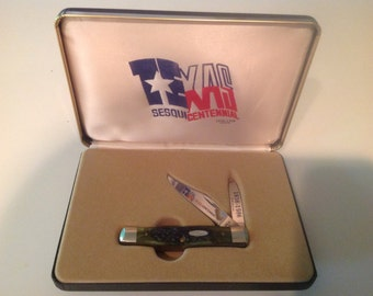 Case collectors Texas sesquicentennial knife