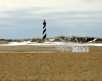 Glossy Print: Cape Hatteras Lighthouse