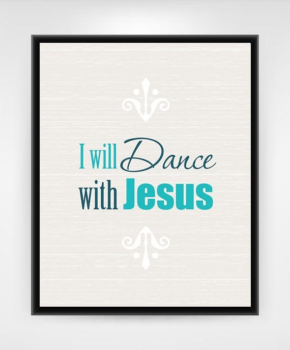 Wall Decor Jesus : Religious wall decor printable art modern teal
