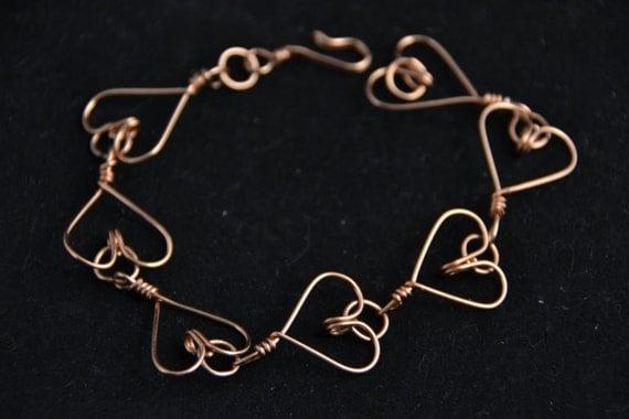 https://www.etsy.com/listing/188895150/copper-wire-heart-bracelet