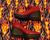 90s kenneth cole REACTION platform mary janes!!!