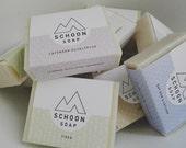 Any four soaps   handmade vegan soap