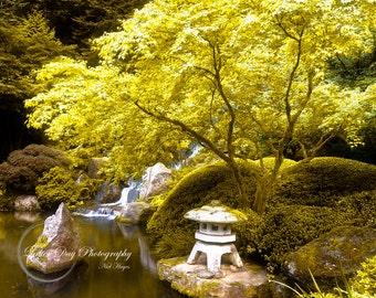 Japanese Garden Portland Oregon - Fine Art Photography Print - Home Decor