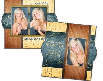 5x5 Card Template - FUNKY FUN - Digital File