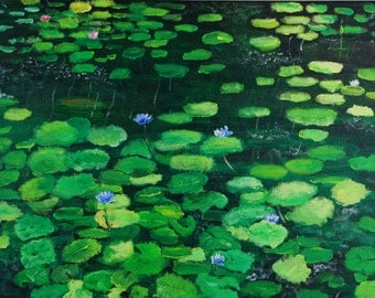 Water Lilies No.5
