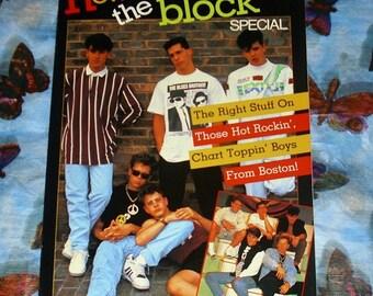 New Kids On The Block Special Book Music Memorabilia American Boy Band Pop Group Nineties NKOTB New Kids Paperback Jordan Knight Jon Knight