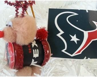 "NFL Xmas ""Reinbeer"" Ornament - Houston Texans"
