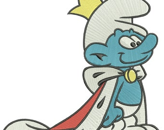 INSTANT DOWNLOAD Machine Embroidery Designs. Smurf. The Smurfs.