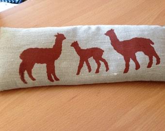 Alpaca Print Wheat Heat Packs