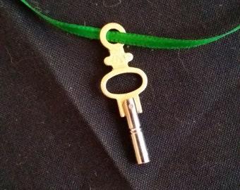 Watch Key Necklace