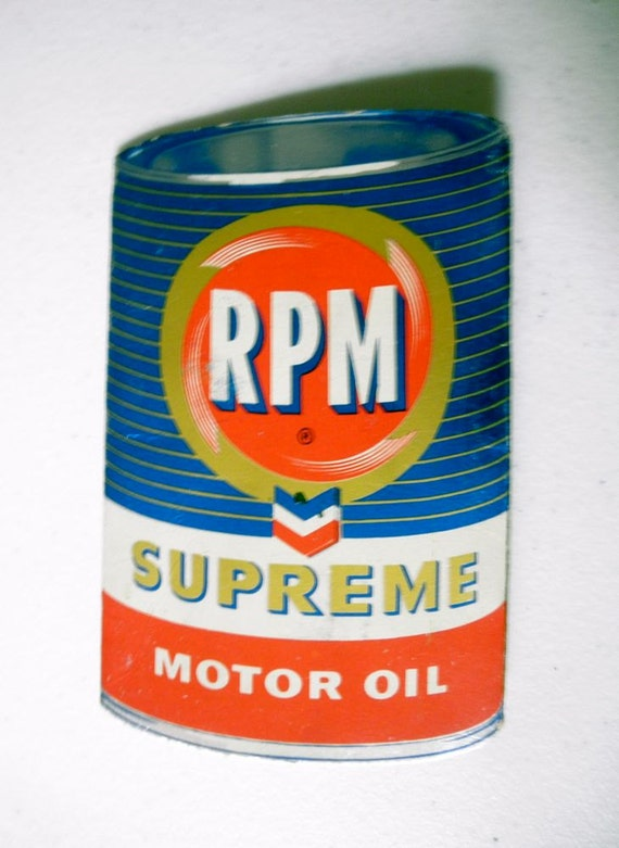 Items Similar To Vintage Gear Head Advertising Rpm