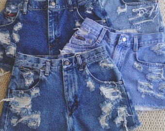Custom High Waisted Shorts