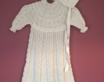 Latticed Christening Gown