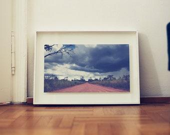 fine art print: landscape photography. Alto Paraiso, Goias