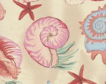 Sea Shell Tan Indoor Outdoor Fabric