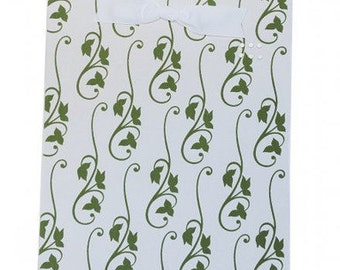 Green Ivy Fabric Magnet Board