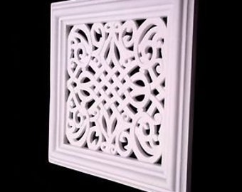 "Victorian air vent cover 12"" x 12"" (vectra design"