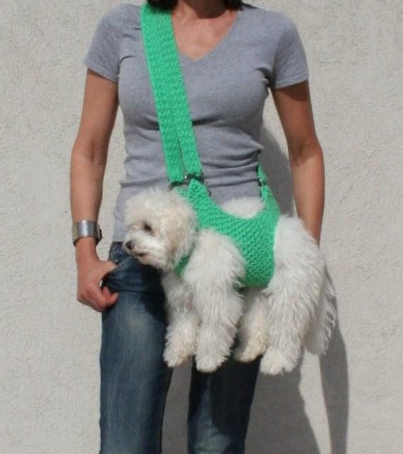 Pet Carrier Crochet Dog Carrier Dog Sling Bubadog Pet