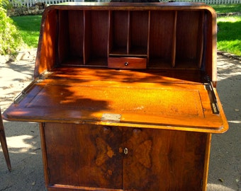 This gem from the late 1700/1800's is an Antique WRITING DESK
