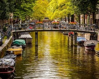 Netherlands - Amsterdam - Bridge over canal - SKU 0119