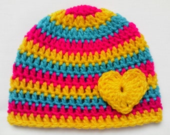 Crochet Baby Kids Toddler Hat Beanie children gift