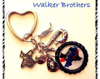BOOK INSPIRED Key Chains KEYCHAINS Walker Brothers Alluring Indulgence by Nicole Edwards Kaleb Zane Ethan Travis Br