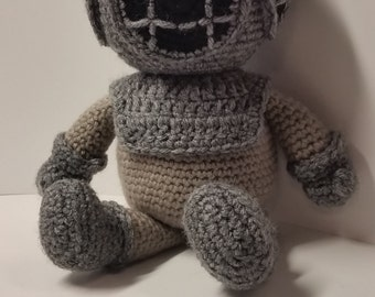 Crocheted Deep Sea Diver MADE TO ORDER