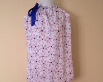 Sparkling Stars Pillowcase Dress     SALE!!!   REDUCED PRICE!!!