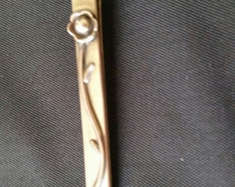 Vintage Silver Tie bar or Bobbie Pin
