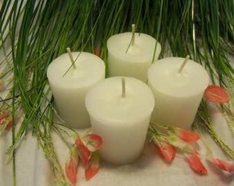 Made to order Votive Candles, 10 Handmade Scented Votive Candles, Paraffin Votive Candles