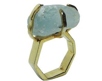 Signature Ring - Aquamarine