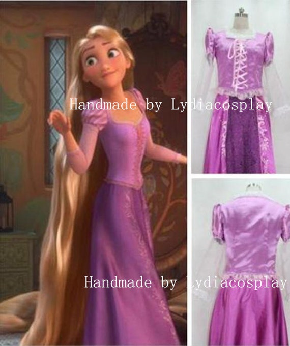 wadewilson9. handmade rapunzel dress costume ...  sc 1 st  PricePi.com : rapunzel costume tutorial  - Germanpascual.Com