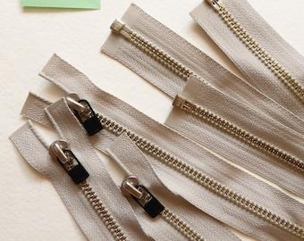 Mixed- Heavy Metal Long Zipper