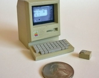 Mini Apple Mac Classic - 3D printed!