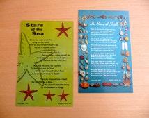 Ocean Poem Postcards