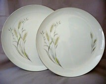 Saxony Dinner Plates From Nasco Fine China of Japan