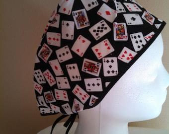 Deck of Cards OR Surgical Hat or Motorcycle Helmet Liner