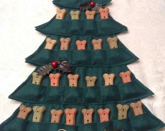 Puppy Treat Tree--Advent Calendar