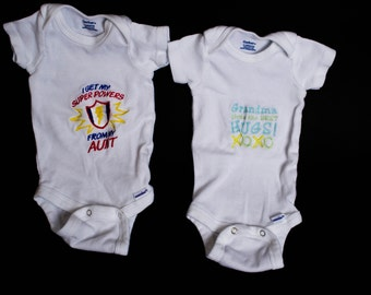 Customized onsies