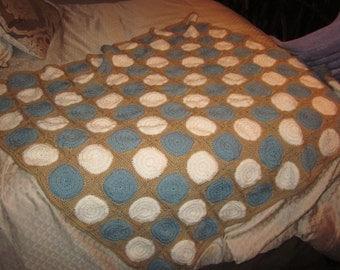 Retro Circle Blanket