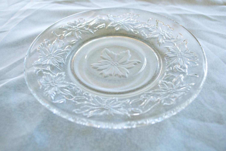 Princess House Fantasia Saucer Plate Crystal By