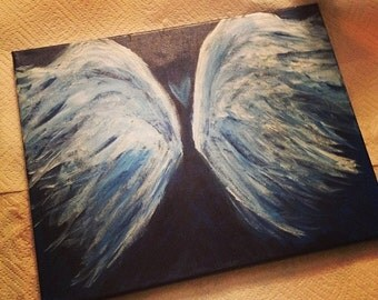 Made to order Angel Wings- 11x16