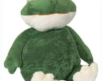 Plush Stuffed FROG Embroiderable Personizable Embroidery Blank