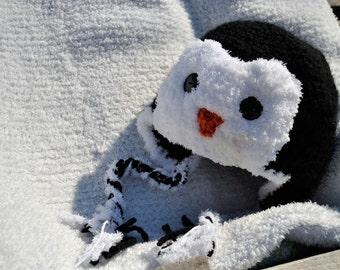 Penguin Hat - crochet